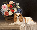 Cavalier with  Flower Basket