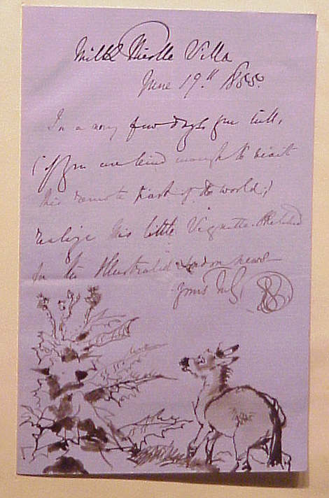 William secord gallery inc autograph letter sir edwin for 120 east 16th street 4th floor new york ny 10003